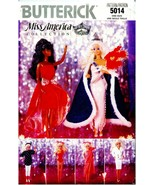 """BUTTERICK MISS AMERICA 11 1/2"""" FASHION DOLL CLOTHES PATTERN 5014 One Size - $19.99"""