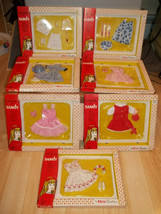 Lot of Seven (7) NIB Vintage Sandy Wardrobe by Elite Creations - RARE TE... - $620.80