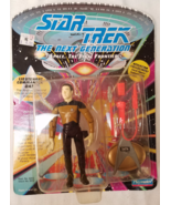 1992 Star Trek The Next Generation Lieutenant Commander Data action figu... - $10.00