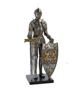 Pacific Giftware Medieval Times King's Royal Guardian Knight in Shining ... - $108.89