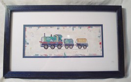 Construction Train Print by Elizabeth & Katherine Pope - $18.75