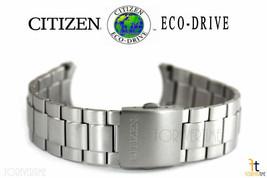 Citizen Eco-Drive S068461 Titane Teinte Argenté Bracelet de Montre S068452 - $199.95