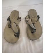 Bandolino Black accent Flip Flop Sandal 8 M - $24.74