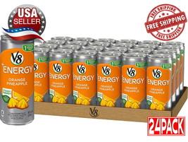 V8+Energy Natural Healthy Drink Energy from Tea Orange Pineapple 8 oz 24 Pk - $24.70