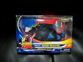 Kung Zhu Battle Hamster - Stonewall - Black with Blue Accents NEW LAST ONE - $23.70