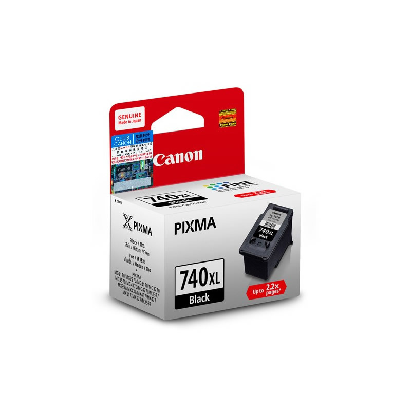Primary image for Canon PIMXA Ink Cartridges (for MG4270/MG4170/MX527/MX537), Black, PG-740XL