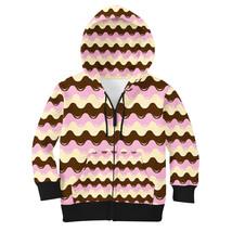 Melting Icecream Kids Zip Up Hoodie - $73.99+
