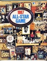 1987 Major League Baseball All Star Game Official Program Oakland  - $17.80