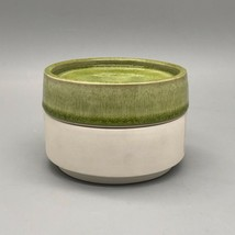 Jars France Tourron Tilleul Avocado Green Small Canister & Lid G2205 - $59.40