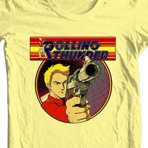 Rolling Thunder T-shirt retro 1980's arcade video game vintage 100% cotton image 1
