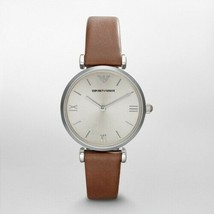Armani Women's AR1679 Classic Retro Brown Leather Watch - $113.91