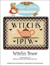 Witch's Brew  halloween cross stitch chart Sugar Stitches Designs  - $7.00