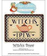 Witch's Brew  halloween cross stitch chart Suga... - $7.00