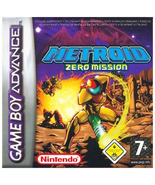 Metroid: Zero Mission GBA Gameboy Advance - $32.99