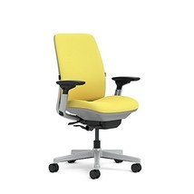 Steelcase Amia(R) Ergonomic Work Chair by Steelcase, Fabric = Cogent Canary; Fra - $780.00