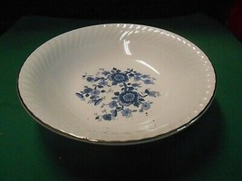 Beautiful ROYAL BLUE ironstone by WEDGWOOD England---...Large Serving BOWL - $9.49