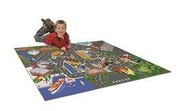 Dickie Toys Play Carpet Playmat Vehicle Playset