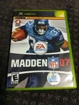 Madden NFL 07 - (Microsoft Xbox, 2006)  - $1.78