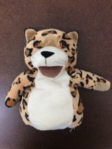 "Manhattan Toy Leopard Hand Puppet 11"" Jungle Animal Wild - $8.66"