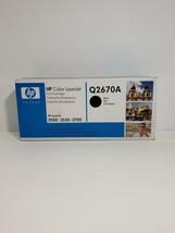 Genuine HP Q2670A Black 3500 3550 3700 Toner Cartridge Sealed LaserJet Laser Jet - $16.63
