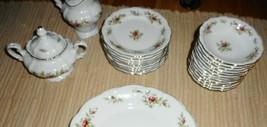 Part Dish Set Johann Haviland Bavaria Germany Plates Berry Bowls Creamer Sugar - $79.19