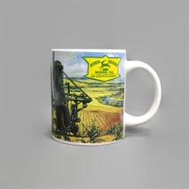 Coffee Mug | JOHN DEERE Vehicles & Farm Scene | 10 oz | Vintage Licensed... - $14.80