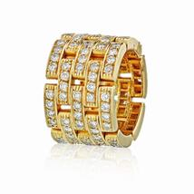 Cartier Maillon 18K Yellow Gold 2.60cts Diamond Ring - $17,800.00