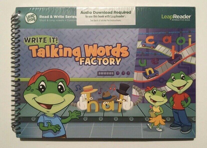 LeapFrog LeapReader Writing Workbook: Write it! Talking Words Factory - $49.99