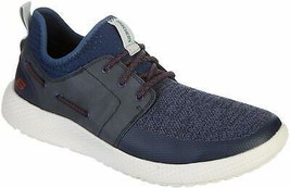 SKECHERS MEN'S RESLEN-KESLO CASUAL SHOES NAVY 9 M US 66010 - $44.54