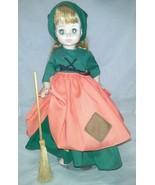 """1967 Madame Alexander Poor Cinderella Doll 13"""" Vintage With Broom Comes ... - $16.99"""