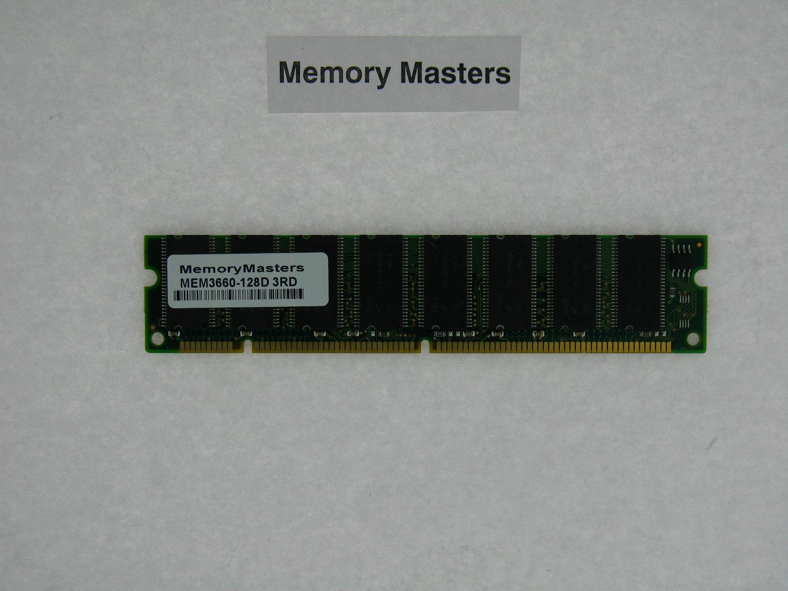 MEM3660-128D 128MB DRAM MEMORY 4 CISCO ROUTER 3662 3661