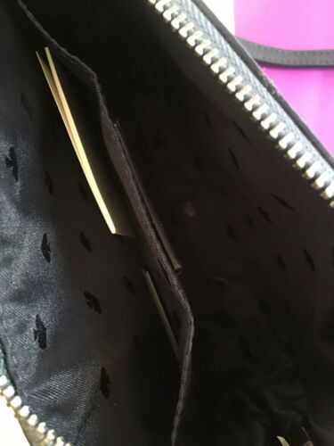 KATE SPADE %Authentic Joeley Smooth Glitter Dust Navy Crossbody Bag (WKRU6288) image 4