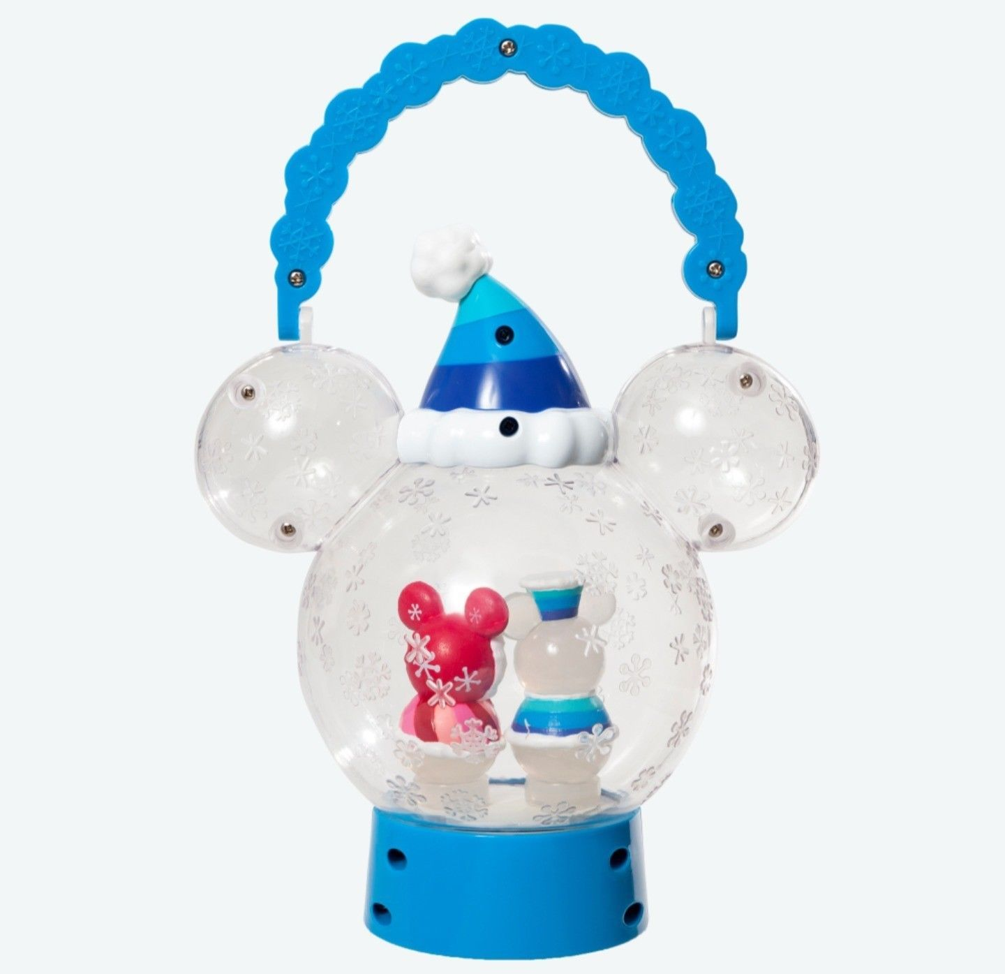Tokyo Disney Land Snow Snow Lantern LED Bule Lamp illumination Mickey & Minnie