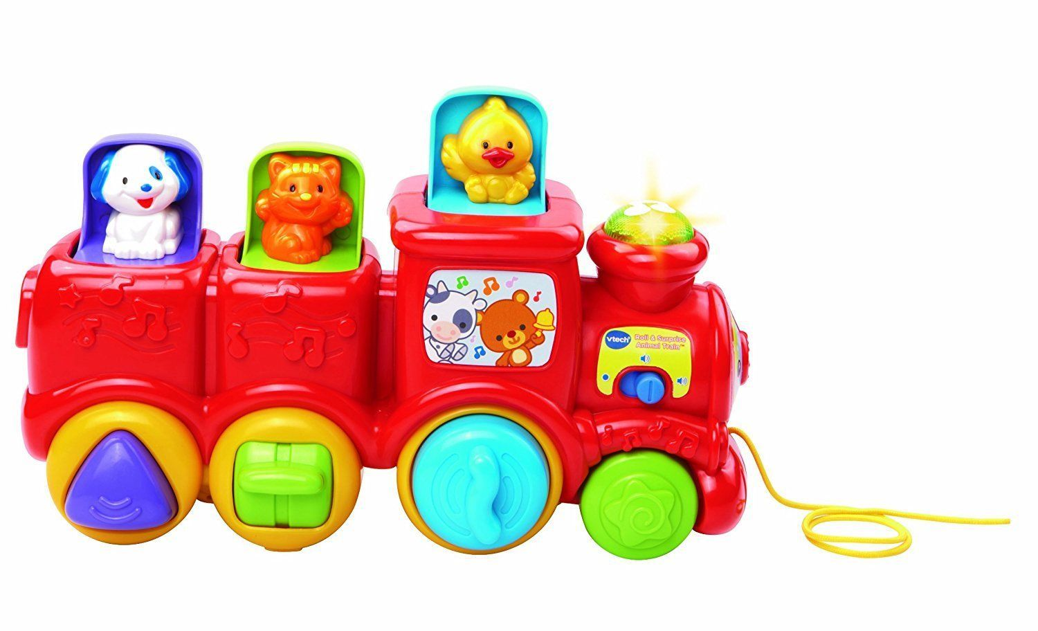 Baby Toy Train VTech Roll Surprise Animal Train Pull Along