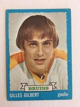 1973-74 Topps #74 Gilles Gilbert RC Hockey Card EX+ Condition Boston Bruins KV1 - $4.99