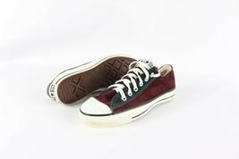 Vintage New Converse Mens 5.5 Womens 7.5 Chuck Taylor Corduroy Shoes Mar... - $168.25