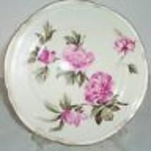 "CASTLETON PEONY PINK DINNER PLATE S GOLD 10 5/8"" - $29.69"