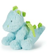 "8"" Dragon Plush Toy Blue Green Baby First Impressions Macys - $49.49"