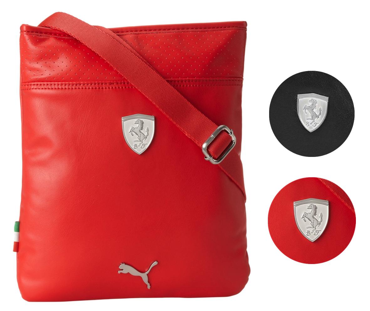 Puma Ferrari Men's Portable Shoulder Magazine Messenger Organizer Bag PMMO2021