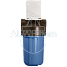 10-inch Single Canister Big Blue Carbon Whole House Filter - $99.85