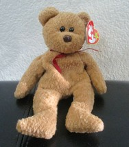 Ty Beanie Baby Curly the Bear 5th Generation PVC Filled - $11.87