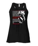 Never Underestimate A Man Who Was Born In August Flowy Racerback Tank - $26.95+