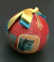 Disney Pixar Sulley Round Ball Ornament Monsters Inc Plastic Christmas Holiday - $29.69