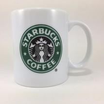 Starbucks Coffee Mug 9 Oz Green Black White Mermaid Logo Classic 2005 Retired - $14.92