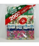Vintage Artfaire Wrapping Paper Pack 200 Sq Ft Mixed 12 Designs 32 Sheet... - $29.99