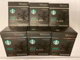 Starbucks Pike Place Decaf Brewed Coffee Verismo Pods (72 Count)Best By 12/26/20 - $138.59