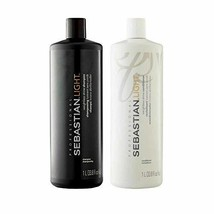 2 Pack Light Shampoo and Conditioner Liter Duo 33.8 Oz - $55.43