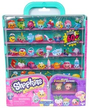 Shopkins Collectors Case with 2 Exclusive Shopkins Holds over 60 Kids To... - $44.05