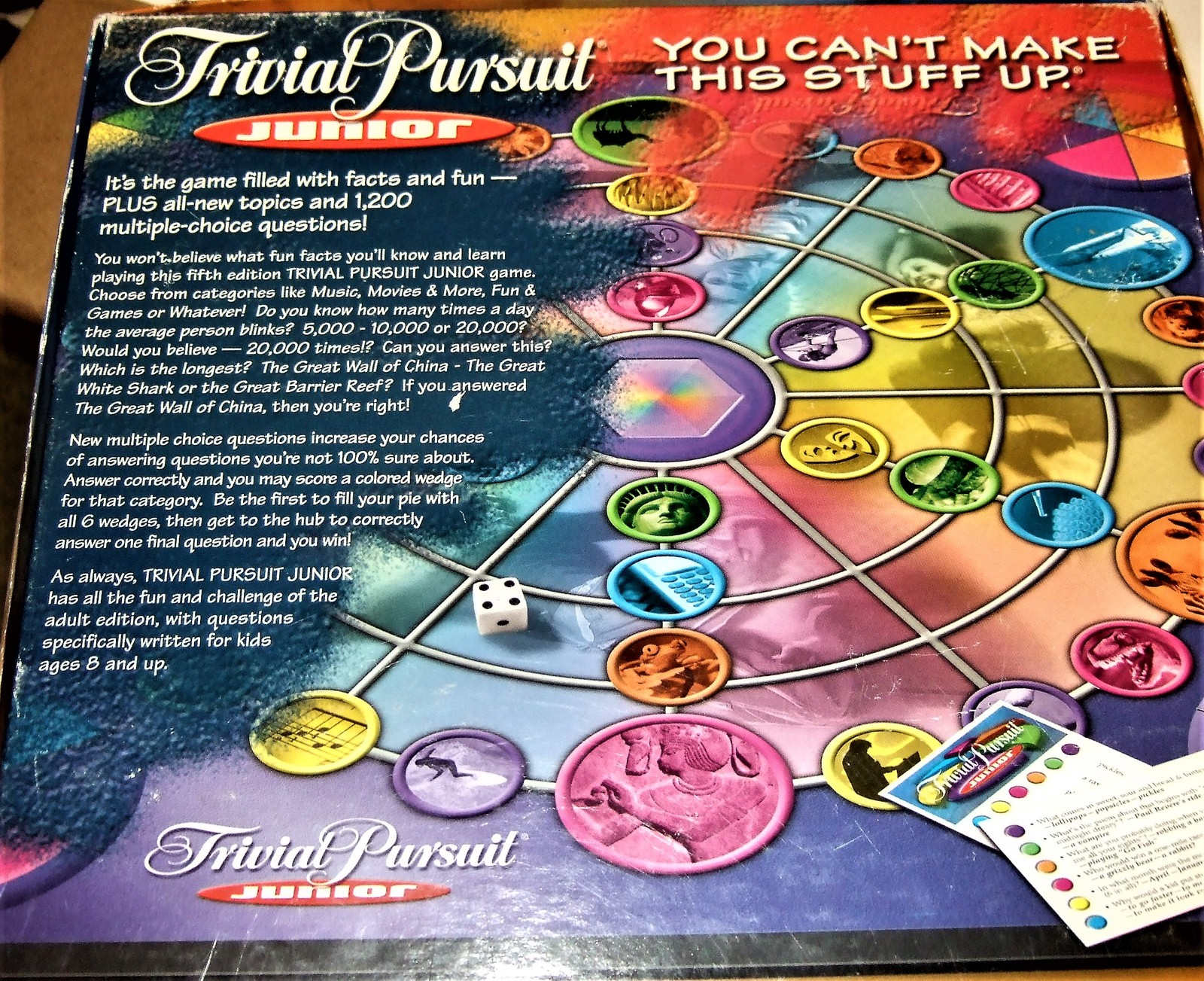 Table Game - Trivial Pursuit Junior (5th Edition)