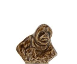 Wade Whimsie Miniature Porcelain Brown Orangutan